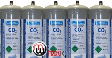 maxxiline co2 disposable cylinders